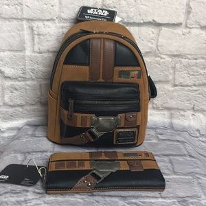 Lounge Fly Solo Star Wars Mini Faux Suede Backpack